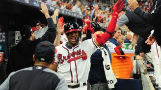 Atlanta Braves' Star Gets Immortalized By A Fan Who Tatted Player's Face On Her Arm