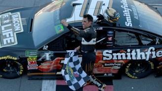 Talladega Winner Aric Almirola Explains NASCAR Free Agency