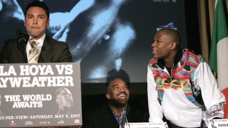 Floyd Mayweather And Oscar De La Hoya Are Getting Deeply Personal In Savage Twitter Spat