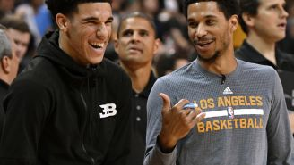 Josh Hart And The Rest Of NBA Twitter Piled It On Lonzo Ball After Airballing Three-Pointer With New Shooting Form