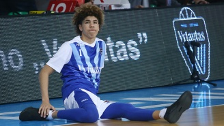 LaMelo Ball Ejected From International Game After He Slapped An Opponent In The Face During Heated Exchange