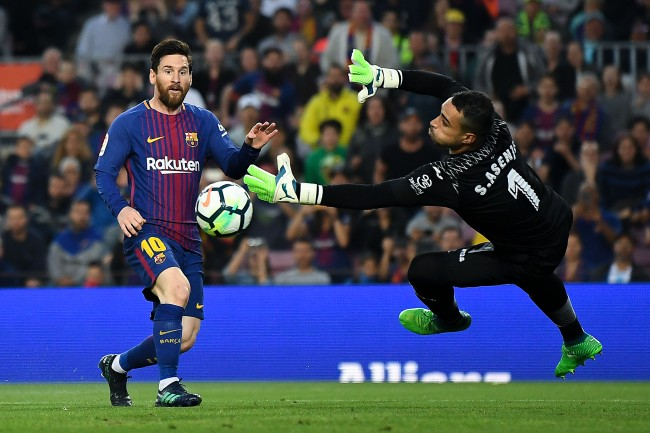 Lionel Messi Barcelona El Clasico