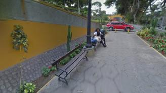 BUSTED: Husband Caught Wife Cheating With Another Man On Google Street View And Divorced Her Trifling Ass