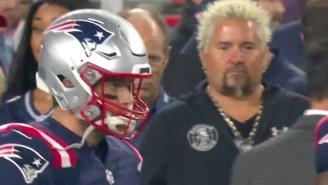 Guy Fieri Turned Foxborough Into Flavortown Last Night And The Internet Couldn't Handle It