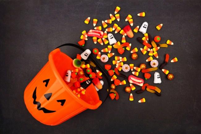 reese's halloween candy machine