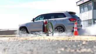 Hennessey's Jeep Grand Cherokee Trackhawk Is Quicker Than A Bugatti Chiron And Is The Fastest SUV On The Planet