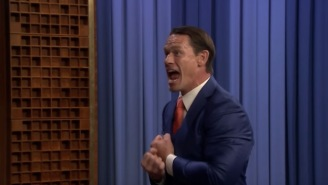 John Cena Shows Off His New Sixth 'Move Of Doom' And Explains His Glorious New Haircut