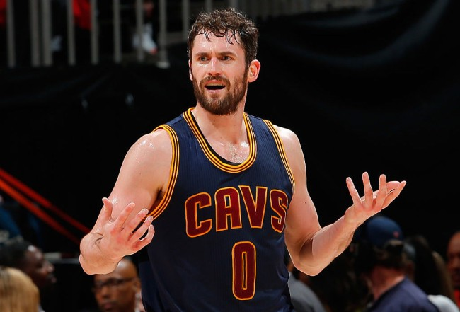 kevin love technical foul whitest thing