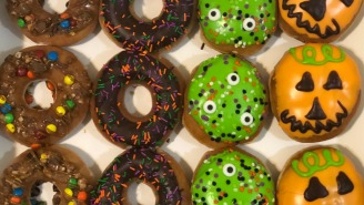 I Tried All Of Krispy Kreme's New Halloween Doughnuts And They're A Certified Graveyard Smash
