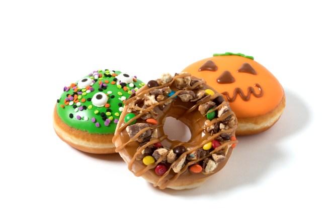 krisy kreme halloween donuts