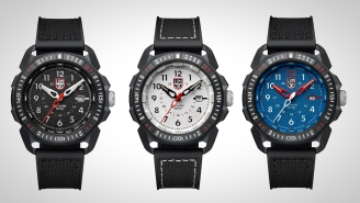 The Awesome Luminox ICE-SAR Arctic 1000 Watch Is On Sale In Three Styles