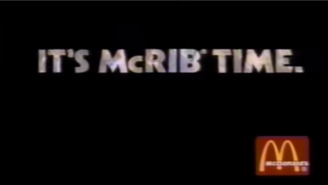 McDonald's Just Dumped Some Big News On Us: The McRib Is Making A Comeback