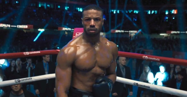michael b jordan workout creed 2
