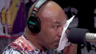 Mike Tyson Breaks Down To Tears Talking About Tupac's Death, Remembering The First Time They Met