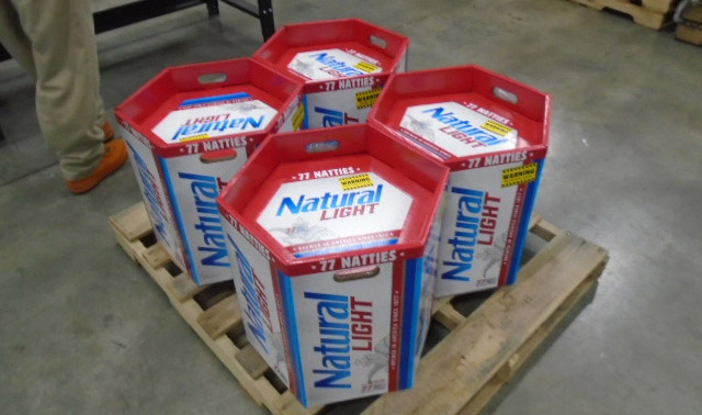 natural natty light 77 pack