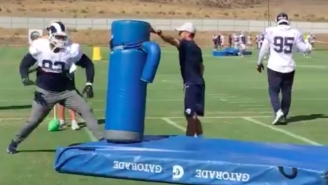 Ndamukong Suh Has Easily The Best Solution To The Roughing The Passer Plague That I've Seen So Far