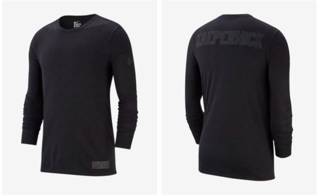 New Nike Colin Kaepernick Icon Tee