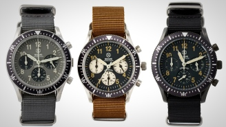 The Nezumi Studios Corbeau Chronograph Mixes Racing Style From The 60s And 70s With Modern Technology