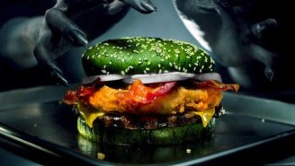 WTF: Burger King's New 'Nightmare King' Burger Is Scientifically Designed To Give You Nightmares