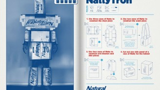 Get An Amazing Last-Minute Halloween Costume Using Natty Light Boxes (With Step-By-Step Directions)