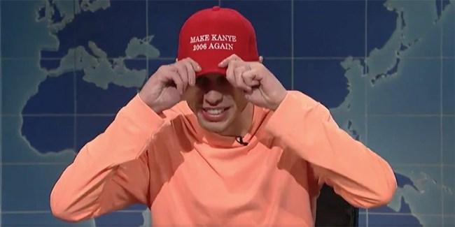 Pete Davidson Kanye Weest SNL