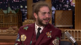 Post Malone Shared A Story About How His Very First Tattoo Got F'd Up By An Angry Justin Bieber