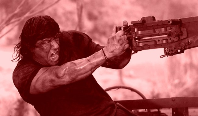 Rambo 5 Title Co-Star Images