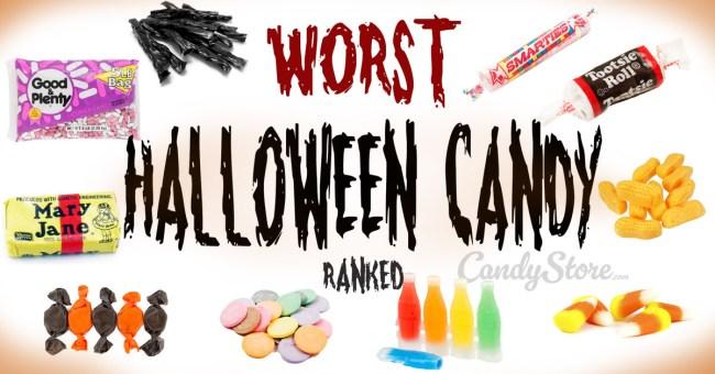 Ranking Worst Best Halloween Candy