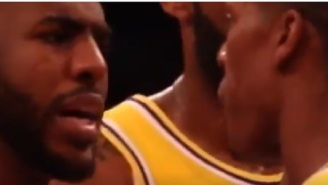 Close-Up Footage Proves Rajon Rondo Did Spit On Chris Paul Before Brawl