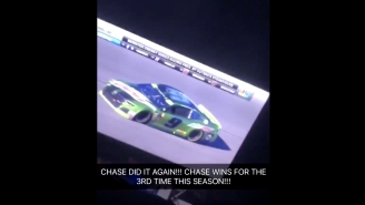 This Is The Best Reaction To Chase Elliott Winning His Third Career NASCAR Race