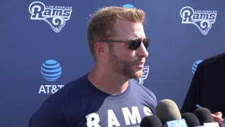 Sean McVay Got Engaged To His Girlfriend Veronika Khomyn, Then Jumped Off The Roof Of A Boat In France