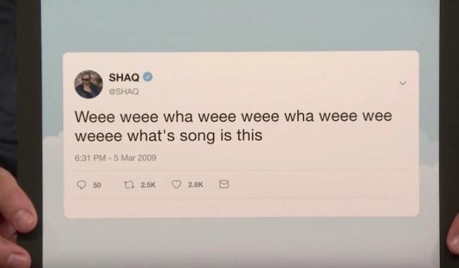 Shaq cryptic tweet explained