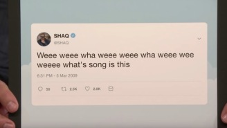Shaq Finally Explained His Cryptic 'Weee Weee Wha Weee' Twitter Riddle From 2009 And Now I Can Rest Easy