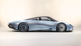 $2.3 Million 2019 McLaren Speedtail Rockets 250 MPH, Has A Flexible Carbon Fiber Body, Is Like Nothing You've Ever Seen