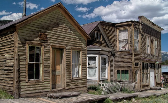 Map All Ghost Towns In America