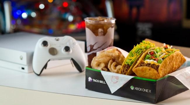 Taco Bell + Xbox - $5 Double Chalupa Box 1jpg