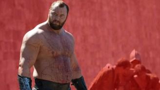 6'9″ Hafþór Júlíus Björnsson AKA The Mountain From 'Game Of Thrones' Married His 5'2″ Girlfriend