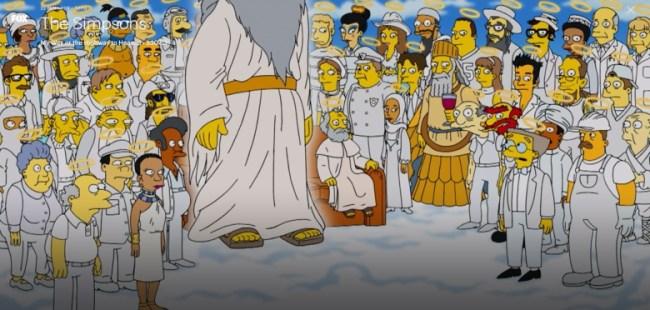 the simpsons apu last scene