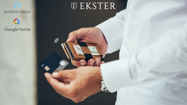 things we want Ekster voice activated smart wallet