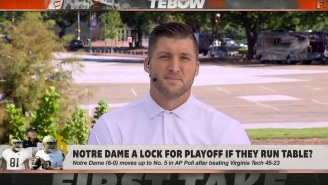 Tim Tebow Offers The Most Logical Reason Why The CFB Playoff Should Stay At Four Teams