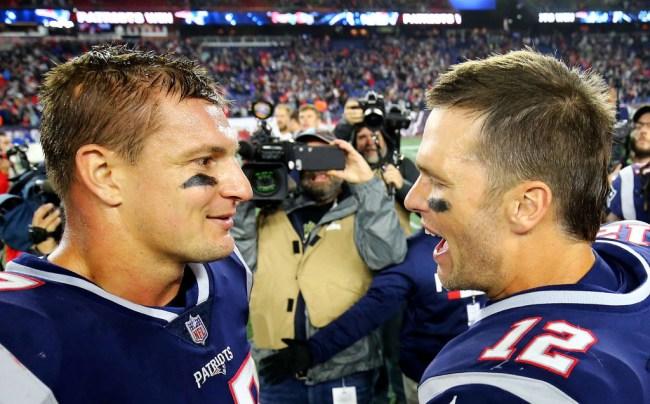 Tom Brady Gronk Stand Up Instagram