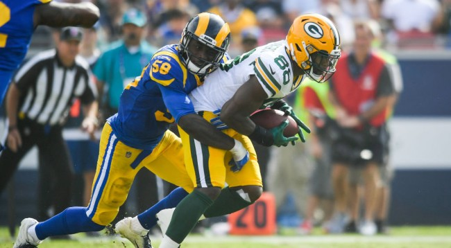 Ty Montgomery Responds Anonymous Accusations Teammate