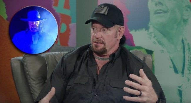 Undertaker Out Of Character Interview Stories