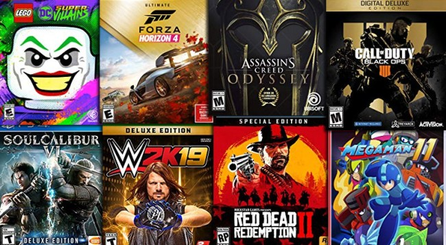 upcoming video game new releases october 2018