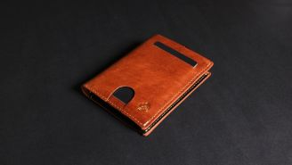 This Leather Slim Wallet Is Being Called 'The Last Wallet You'll Ever Need'