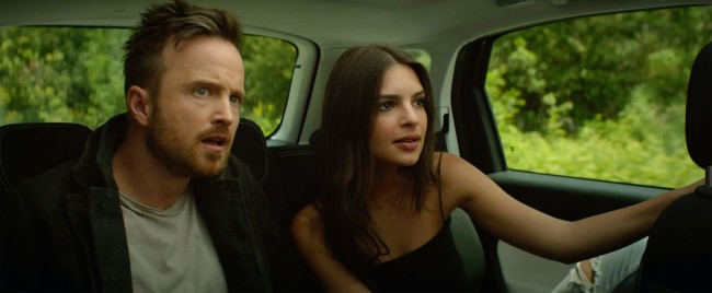 Aaron Paul and Emily Ratajkowski Star in First Trailer for Sexy Romance Thriller Welcome Home