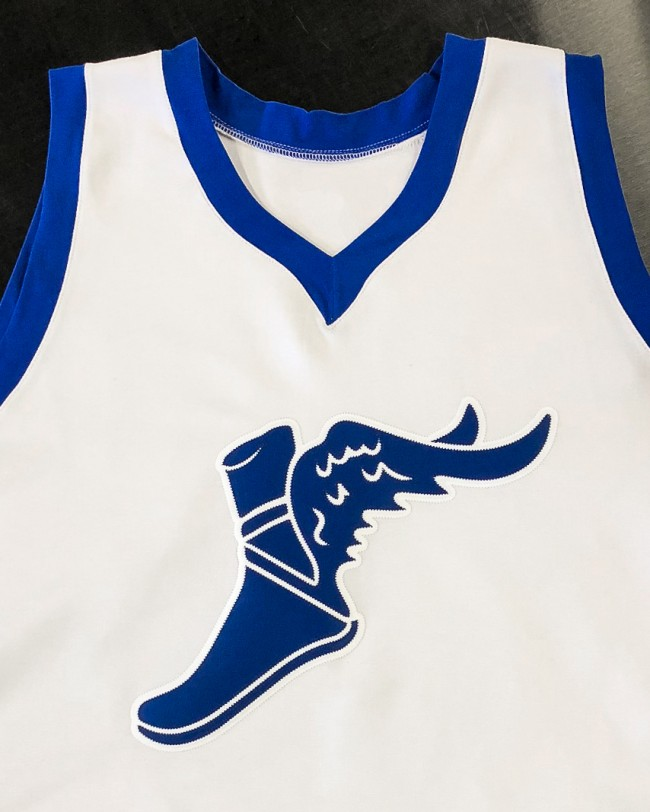 akron wingfoots throwback jersey