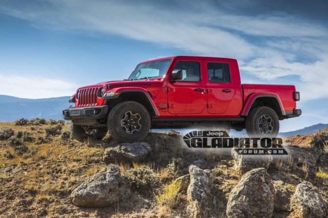 2020 Jeep Gladiator JT Pickup Truck