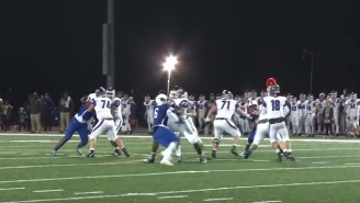 These 45 Seconds Of A H.S. Football Game Was The Craziest Series Of Events I've Ever Seen