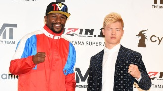 50 Cent Ruthlessly Mocks Floyd Mayweather For Backing Out Of Fight With Japanese Kickboxer